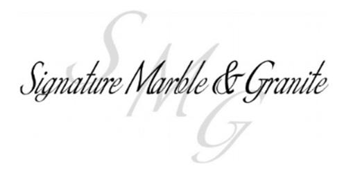 signature marble & granite logo